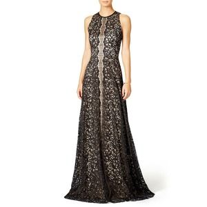 Erin Fetherston Pamela Gown 2 Lace Sleeveless Blac